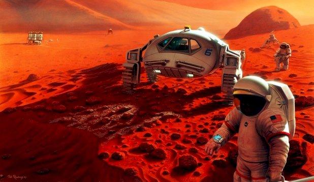 Oamenii de ştiinţă au identificat ruta cea mai bună pentru a ajunge pe planeta Marte