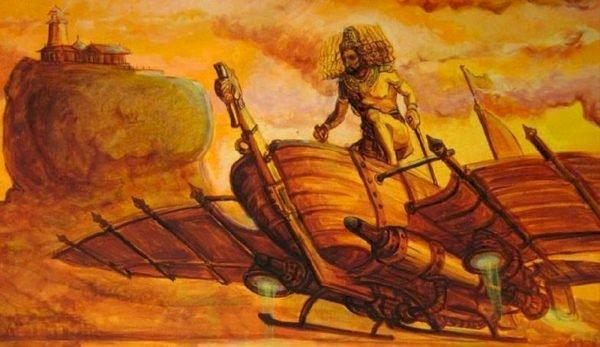 Un vechi manuscris indian descrie avioane gigantice și zboruri interplanetare