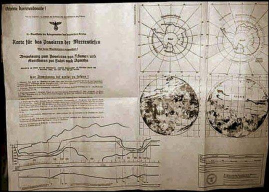 Agartha o lume subterană din interiorul planetei noastre, confirmată de hărţi şi documente secrete naziste