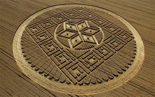 Cercurile din lanuri sunt create de către extratereștri