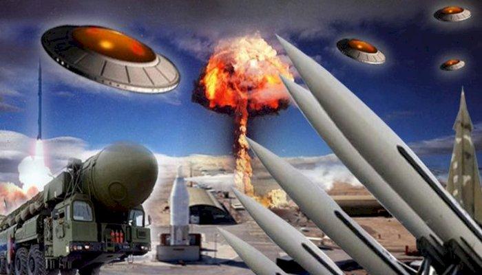 Extraterestrii au oprit un razboi nuclear intre SUA si URSS