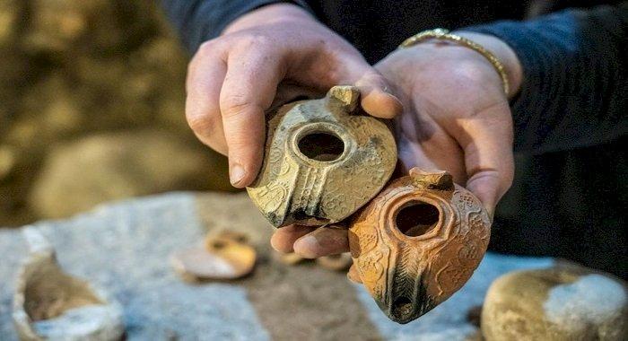 O serie de camere subterane descoperite în apropiere de Zidul Plangerii