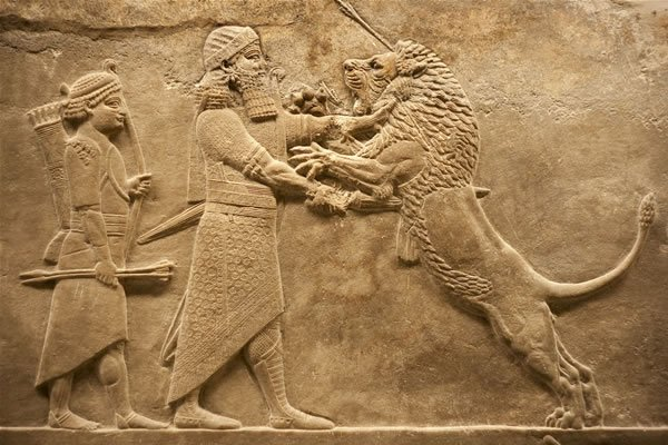 Arta asirienilor.Babilonul