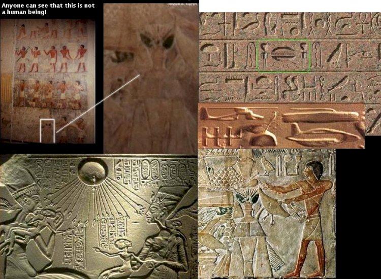 Un papirus egiptean descrie cu lux de amănunte momentul în care un OZN a aterizat pe Pământ